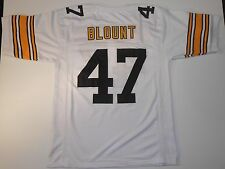 Pittsburgh Steelers Mel Blount UNSIGNED CUSTOM White Jersey - XL