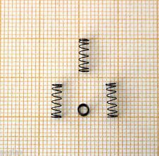 4 x Druckfeder, Länge 8mm, Außen Ø2,7mm, Drahtstärke 0,2mm