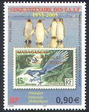 FSAT/TAAF 2005 Penguins/Birds/Stamp-on-Stamp/S-on-S/Nature 1v  (n27831)