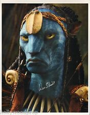 WES STUDI SIGNED AVATAR CHIEF EYTUKAN PHOTO POSTER AUTOGRAPH w/ NOTARIZED COA