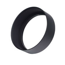 58mm Screw-in Mount Metal Tele Lens Hood for Canon Nikon Sony Pentax Olympus