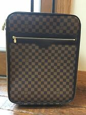 Auth Louis Vuitton Damier Pegase 50 Travel Luggage Bag Rolling Suitcase