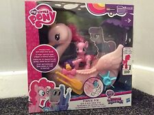 My Little Pony Friendship is Magic Pinkie Pie Row and Ride Swan Boat PlaySet