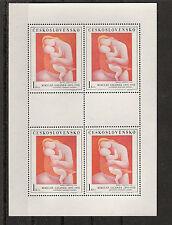 Tschechoslowakei Gemälde Mi 1965/1969 im Kleinbogen postfrisch KW 25,00€