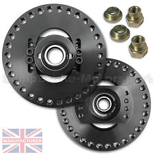 SKODA OCTAVIA MK2 - 2 PIECE ADJUSTABLE TOP MOUNTS TO FIT OEM/COILOVERS  CMB1158