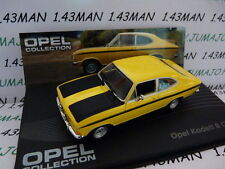 voiture 1/43 IXO eagle moss OPEL collection : Kadett B coupé 1965/1973
