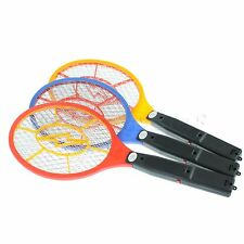 Bug Zapper Packet Electronic Mosquito Fly Swatter Insects Electric Bat Handheld