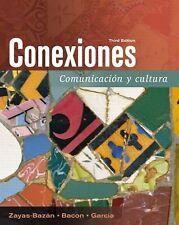 Conexiones: Comunicacion y cultura (3rd Edition) Zayas-Bazán, Eduardo, Bacon, S