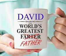 Funny Farter Personalised Mug Cup NEW Birthday Gift Idea Father Present Any Name
