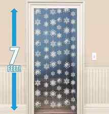 Snowflakes Hanging String Decorations ~ Winter & Holiday Party Supplies Favors