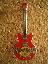 HRC Hard Rock Cafe Oslo Core Guitar Series 2012 3 String Red
