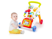 Push Along Baby Walker Musical Lights & Sounds Babies Activity Centre 66-16
