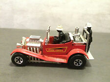 Matchbox Super kings Feuerwehrauto K-50 53 Fire Chief Rot Hot rot 1