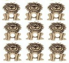 8   LION EYELETS ** HOT ITEM ** BRAND NEW ** ZOO