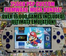 256GB 3000mAh Battery Modded Star Ocean Limited PSP 2000 Custom Firmware!