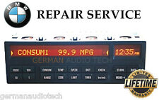 BMW E36 18 BUTTON ON BOARD COMPUTER OBC MID SIEMENS - PIXEL REPAIR SERVICE