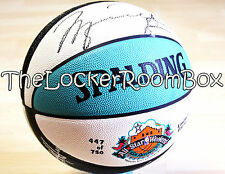 Signed NBA all star game 1996 Michael Air Jordan ballon basket pippen penny