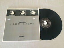 AN INTERVIEW WITH JOHN LYDON GATEFOLD PUBLIC IMAGE 1986 UK PRESS LP