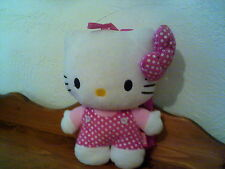 "13"" Hello Kitty Plush BackPack Back  Pack w/ Straps *"