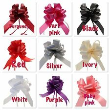 Pull Bows for Wedding Car Ribbon first class post included fast delivery Wedding