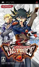 Used PSP Yu-Gi-Oh! 5D's Tag Force 4  Japan Import ((Free shipping))