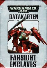 Tau Farsight Enclaves Datakarten (Deutsch) Games Workshop Warhammer 40.000 40k