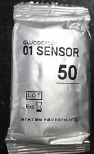 Glucocard 01 Sensor 50 Test Strips for Glucocard Arkray(Without Outer Box)