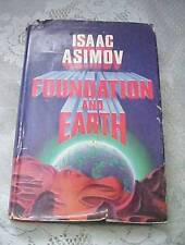 Isaac Asimov Foundation and Earth 1st Ed 1986 Hardcover #4 Foundation Series