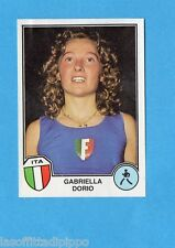 SPORT SUPERSTARS/EURO FOOTBALL 82-PANINI-Figurina n.14- DORIO - ITALIA -Rec