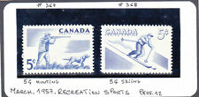 CANADA #s 367 , 368          MNH (**)