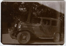 PHOTO ANCIENNE - VOITURE TRACTION - CAR - Vintage Snapshot