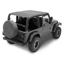 Smittybilt Extended Top 04-06 Jeep Wrangler LJ Unlimited 93735 Black Diamond