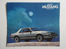 FORD MUSTANG 1979 Revised original sales brochure prospekt catalogue