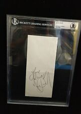 Michael Jackson Signed/Autographed Envelope BAS Beckett Authentic
