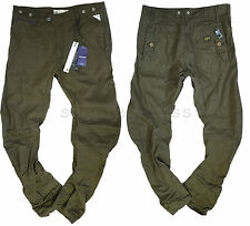 NEW G-STAR W-34 L-34 ARCTIC OMEGA ARC LOOSE TAPERED PANTS WILD OLIVE