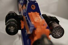 "3D Printed – Nerf to Flashlight/Laser 1 3/16"" ID Mount for Nerf Dart Gun Blaster"