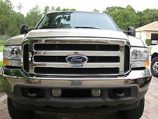 Ford CHROME Grille CONVERSION Fits 1999-2004 Super Duty 2005 2006 2007 F250 F450