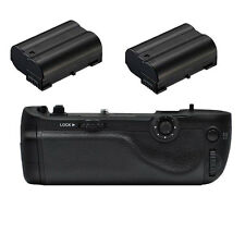 pro battery grip for Nikon D750 Replacement MB-D16 + 2 x Decode EN-EL15 battery
