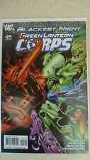 """Blackest Night"" Green Lantern Corps Issue 45 ""First Print"" - 2010"