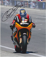 MOTOGP COLIN EDWARDS firmato NGM Mobile Forward Racing COLORE FOTO