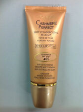 L'Oreal Cashmere Perfect Soft PowderCreme foundation NUDE BEIGE #405 NEW.