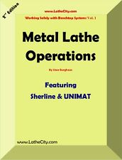 Metal Lathe Operations - Paperback - Engineering - Sherline / UNIMAT - LatheCity