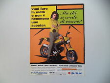 advertising Pubblicità 1998 SUZUKI STREET MAGIC TR 50 S