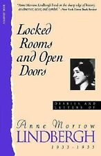 Locked Rooms Open Doors:: Diaries And Letters Of Anne Morrow Lindbergh, 1933-193