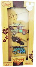 Disney Store D23 Expo 2015 Disney Cars Limited Edition Pin Set