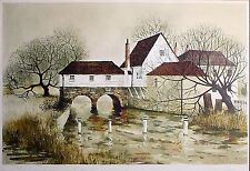 Jeremy King  Collectors Guild Signed Numbered Limited Ed English countryside