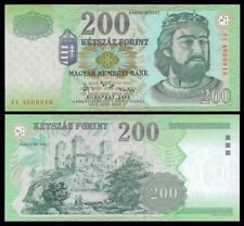 Hungary 200 FORINT 2007 P 187g UNC Serie FC  OFFER !