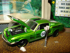 M2 1968 FORD MUSTANG FASTBACK 5.0 302 RACING CAR LIMITED EDITION 1/64 DETAILED