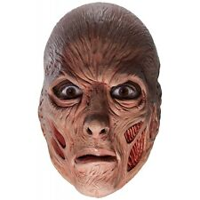 Freddy Krueger Costume Mask Nigthmare on Elm Street Adult Mens Scary Halloween