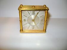 VINTAGE JAEGER DESK / ALARM CLOCK CALIBER 62, IN GOOD WORKING ORDER